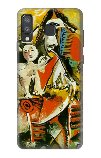 Printed Picasso Painting Cubism Samsung Galaxy A8 Star (A9 Star) Case