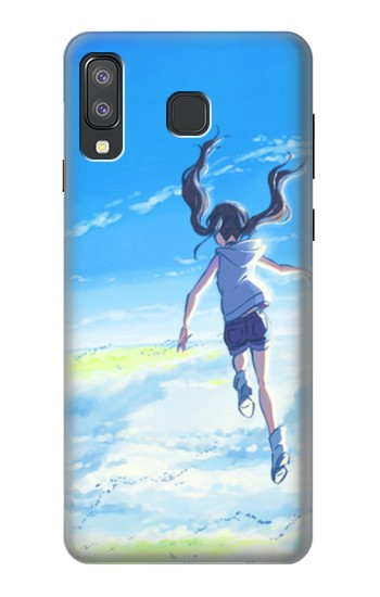 Printed Weathering With You Amano Hina Samsung Galaxy A8 Star (A9 Star) Case