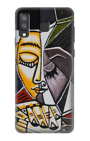 Printed Pablo Picasso Painting Samsung Galaxy A8 Star (A9 Star) Case