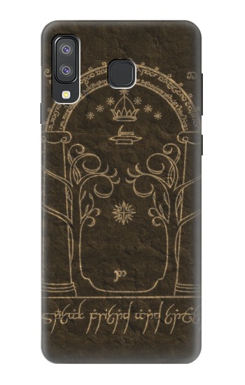 Printed Durin Door The Lord of The Rings Samsung Galaxy A8 Star (A9 Star) Case