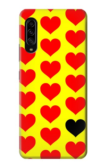 Printed Red Heart Samsung Galaxy A90 5G Case