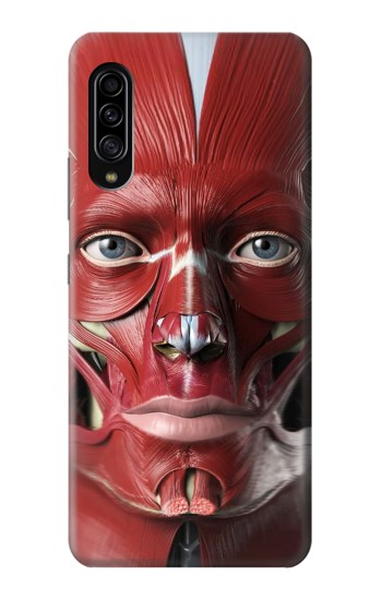 Printed Anatomy of The Face Samsung Galaxy A90 5G Case