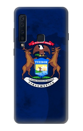 Printed State of Michigan Flag Samsung Galaxy A9 (2018) Case