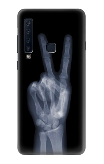 Printed X-ray Peace Finger Samsung Galaxy A9 (2018) Case