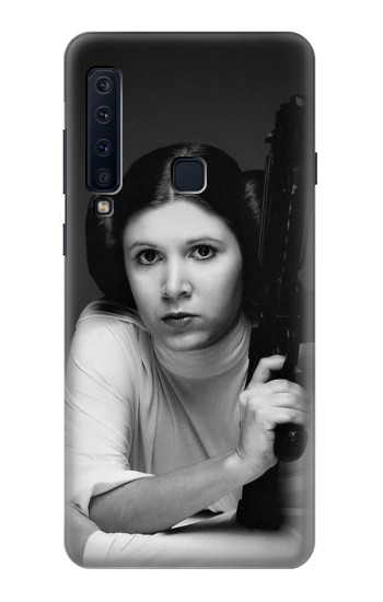 Printed Princess Leia Carrie Fisher Samsung Galaxy A9 (2018) Case