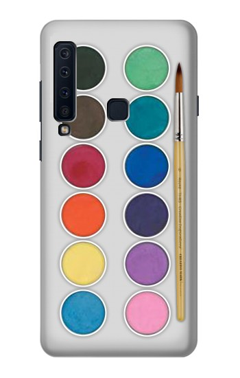 Printed Mixing Color Plate Samsung Galaxy A9 (2018) Case