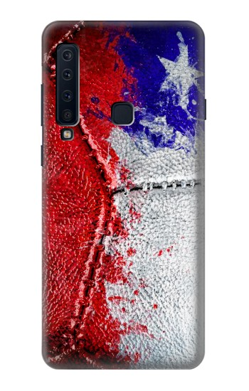 Printed Chile Flag Vintage Football 2018 Samsung Galaxy A9 (2018) Case