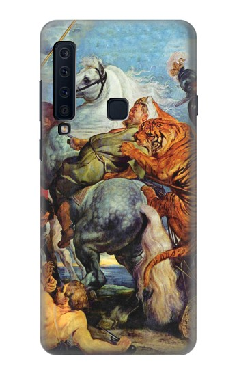 Printed Peter Paul Rubens Tiger und Lowenjagd Samsung Galaxy A9 (2018) Case