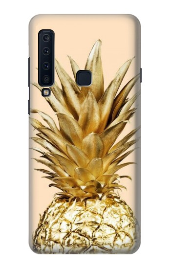 Printed Gold Pineapple Samsung Galaxy A9 (2018) Case