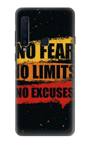 Printed No Fear Limits Excuses Samsung Galaxy A9 (2018) Case