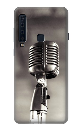 Printed Vintage Microphone Samsung Galaxy A9 (2018) Case