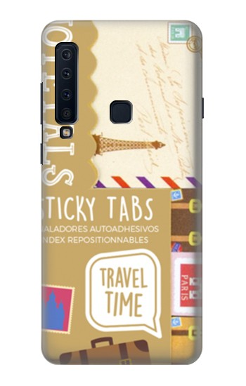Printed Time to Travel Samsung Galaxy A9 (2018) Case