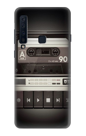 Printed Vintage Cassette Player Samsung Galaxy A9 (2018) Case