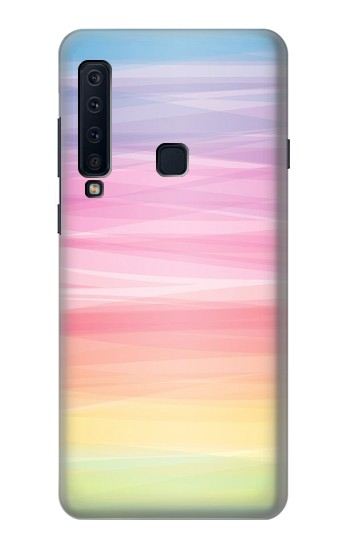 Printed Colorful Rainbow Pastel Samsung Galaxy A9 (2018) Case