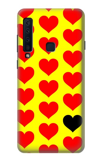 Printed Red Heart Samsung Galaxy A9 (2018) Case