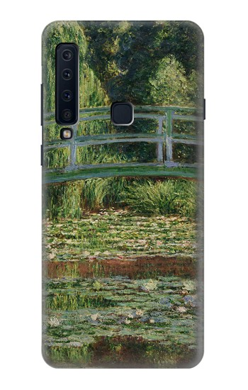Printed Claude Monet Footbridge and Water Lily Pool Samsung Galaxy A9 (2018) Case