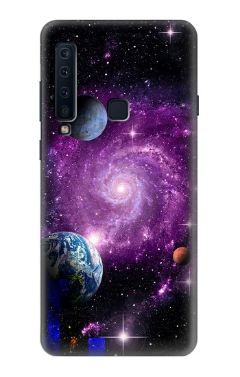 Printed Galaxy Outer Space Planet Samsung Galaxy A9 (2018) Case