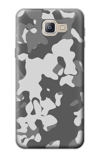 Printed Gray Camo Camouflage Graphic Printed Samsung Galaxy A9, A9 Pro (2016) Case