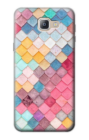 Printed Candy Minimal Pastel Colors Samsung Galaxy A9, A9 Pro (2016) Case