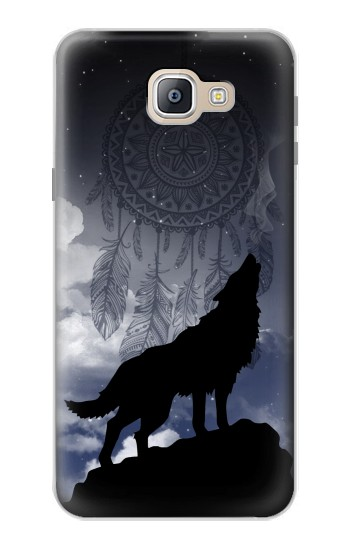 Printed Dream Catcher Wolf Howling Samsung Galaxy A9, A9 Pro (2016) Case