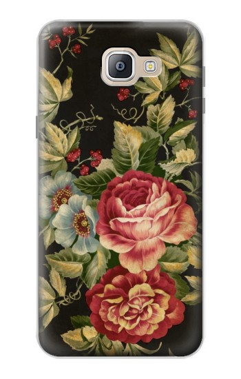 Printed Vintage Antique Roses Samsung Galaxy A9, A9 Pro (2016) Case