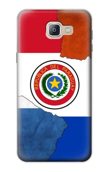 Printed Paraguay Flag Samsung Galaxy A9, A9 Pro (2016) Case