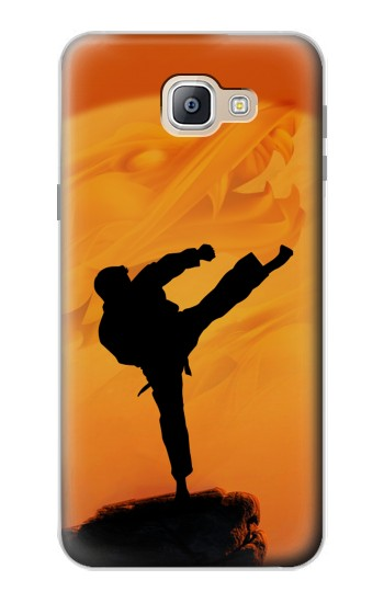 Printed Kung Fu Karate Fighter Samsung Galaxy A9, A9 Pro (2016) Case
