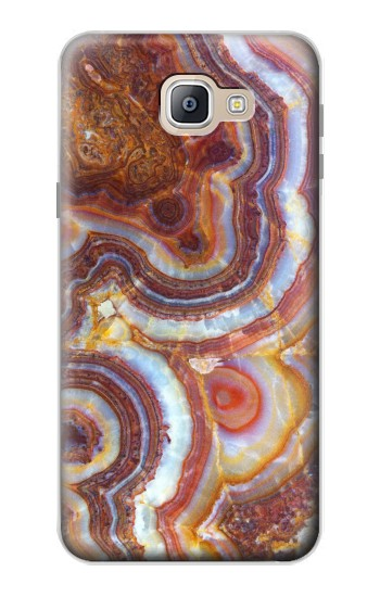 Printed Colored Marble Texture Printed Samsung Galaxy A9, A9 Pro (2016) Case