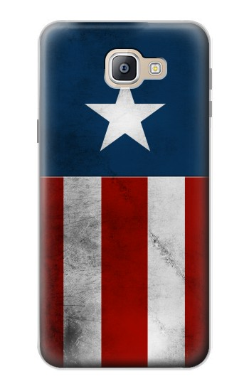 Printed Captain Star Flag of America Samsung Galaxy A9, A9 Pro (2016) Case