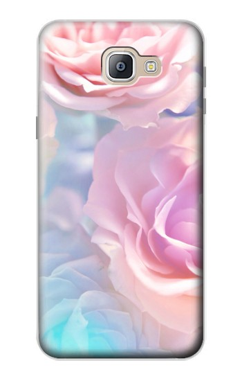 Printed Vintage Pastel Flowers Samsung Galaxy A9, A9 Pro (2016) Case