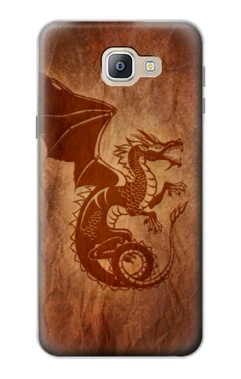 Printed Red Dragon Tattoo Samsung Galaxy A9, A9 Pro (2016) Case