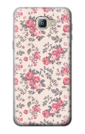 Printed Vintage Rose Pattern Samsung Galaxy A9, A9 Pro (2016) Case