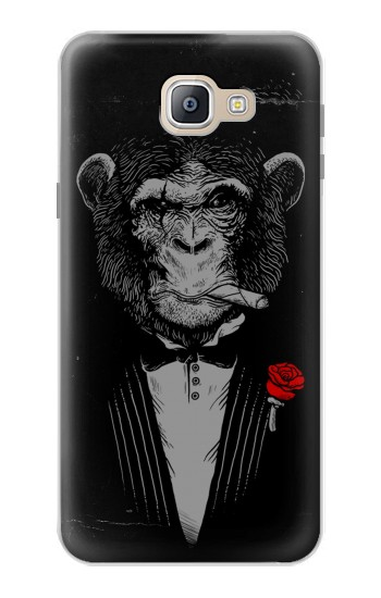 Printed Funny Monkey God Father Samsung Galaxy A9, A9 Pro (2016) Case