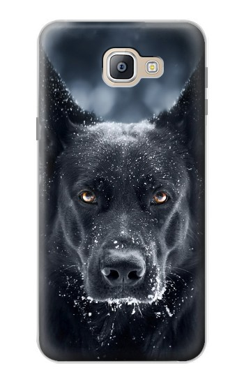 Printed German Shepherd Black Dog Samsung Galaxy A9, A9 Pro (2016) Case