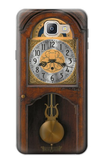 Printed Grandfather Clock Antique Wall Clock Samsung Galaxy A9, A9 Pro (2016) Case