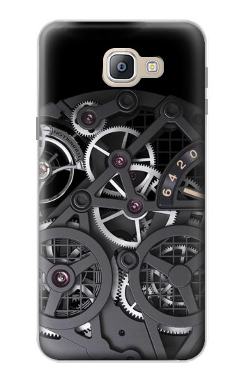 Printed Inside Watch Black Samsung Galaxy A9, A9 Pro (2016) Case