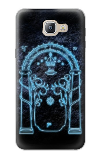 Printed Lord of The Rings Mines of Moria Gate Samsung Galaxy A9, A9 Pro (2016) Case
