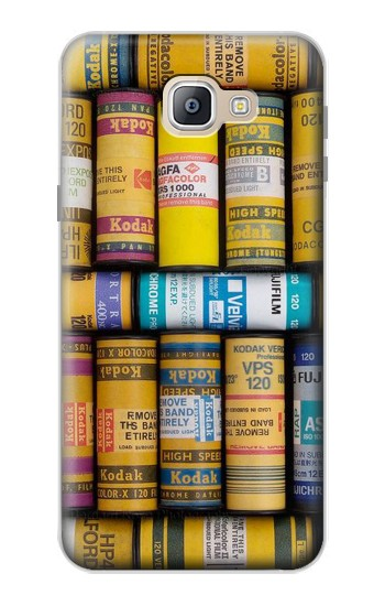 Printed MM Film Camera Samsung Galaxy A9, A9 Pro (2016) Case