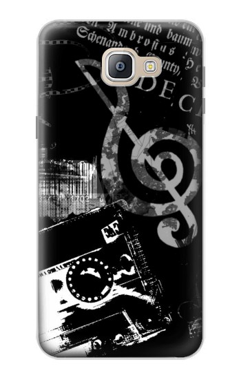 Printed Music Cassette Note Samsung Galaxy A9, A9 Pro (2016) Case