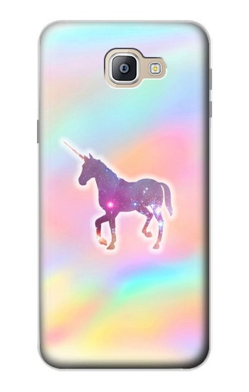 Printed Rainbow Unicorn Samsung Galaxy A9, A9 Pro (2016) Case