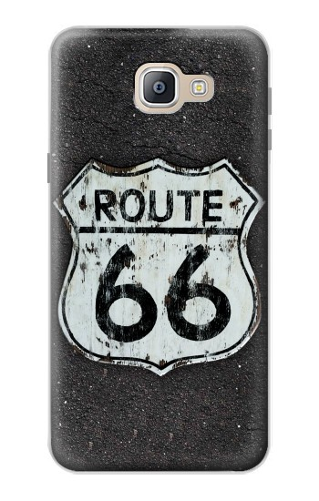 Printed Route 66 Sign Samsung Galaxy A9, A9 Pro (2016) Case