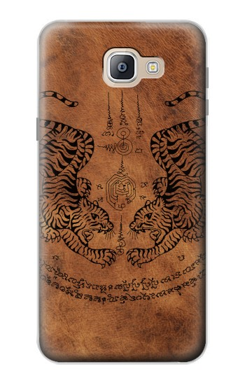 Printed Sak Yant Twin Tiger Samsung Galaxy A9, A9 Pro (2016) Case