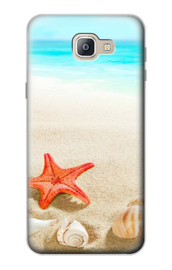 Printed Sea Shells Starfish Beach Samsung Galaxy A9, A9 Pro (2016) Case
