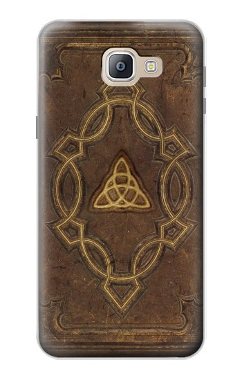Printed Spell Book Cover Samsung Galaxy A9, A9 Pro (2016) Case
