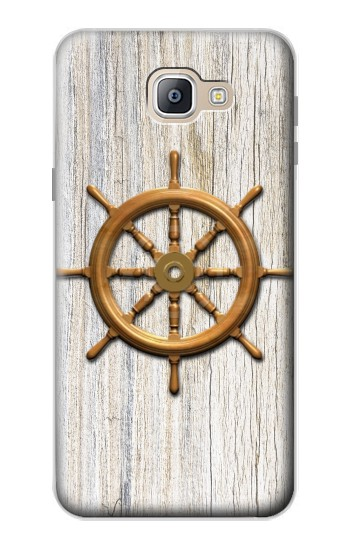 Printed Steering Wheel Ship Samsung Galaxy A9, A9 Pro (2016) Case