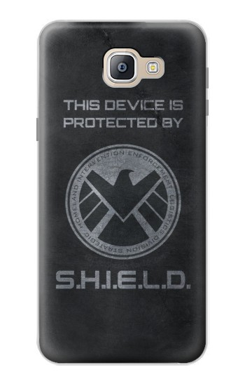 Printed This Device is Protected by Shield Samsung Galaxy A9, A9 Pro (2016) Case