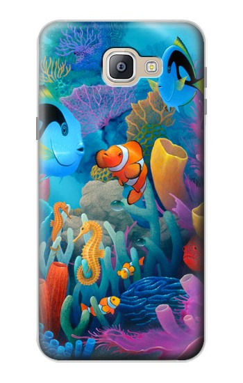 Printed Underwater World Cartoon Samsung Galaxy A9, A9 Pro (2016) Case