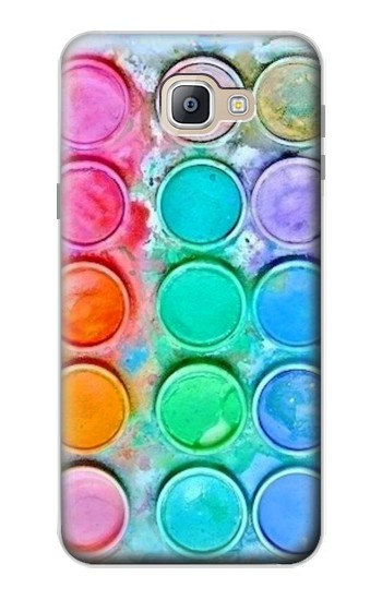 Printed Watercolor Mixing Samsung Galaxy A9, A9 Pro (2016) Case