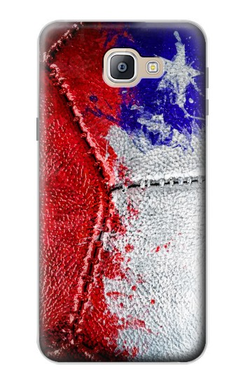 Printed Chile Flag Vintage Football 2018 Samsung Galaxy A9, A9 Pro (2016) Case