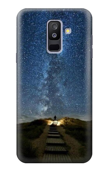 Printed Stairway to Heaven Iceland Samsung Galaxy A6+ (2018) Case